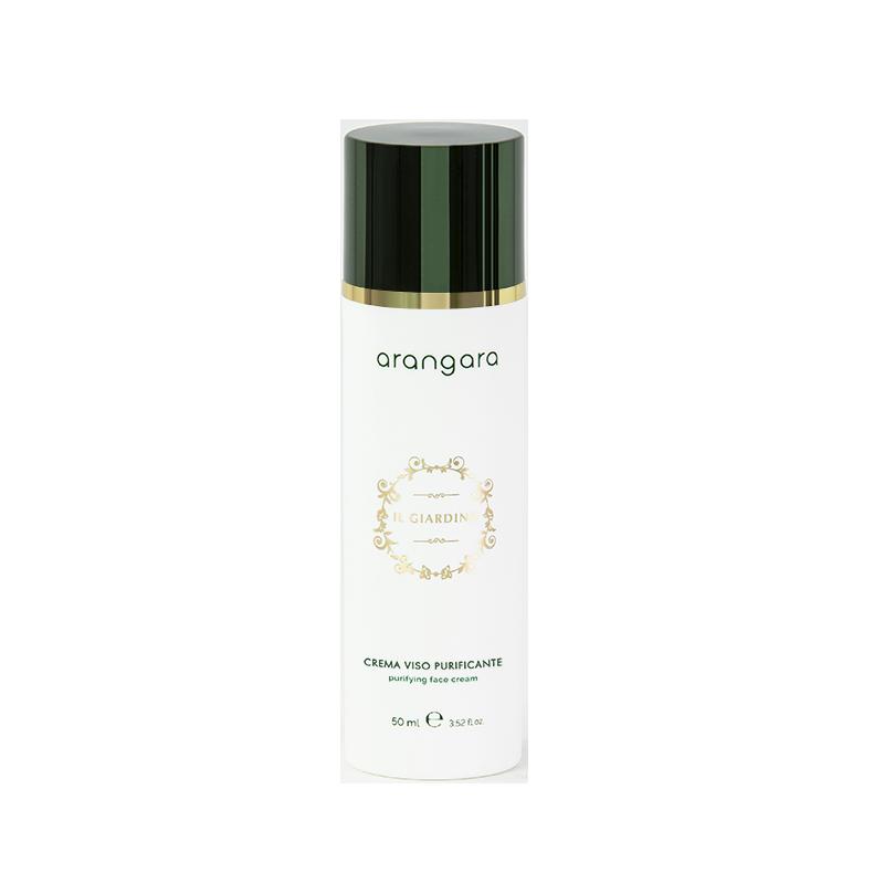 Crema viso purificante antiossidante