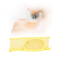 Exfoliating shower strip